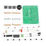 DIY 6 Digital LED Eletrônico DIY Relógio Kit Componentes Eletrônicos Partes 9V-12V AT89C2051