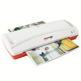 YE280 Professional Laminator Hot And Cold Laminator Machine For A4 Document Photo Blister Packaging Plastic