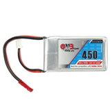 Gaoneng GNB 7.4V 450mAh 2S 80 / 160C Lipo Batterie Fiche JST pour Eachine Aurora 90 100 FPV Racer
