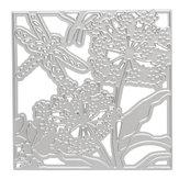 Çiçek Yusufçuk Kesme Ölür Stencil DIY Karalama Defteri Fotoğraf Albümü Kartları Kağıt Dekor Zanaat