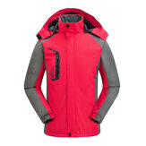Women Outdoor Thicken Hooded Mountaineer Jacket