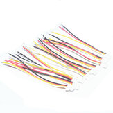 10 PCS JST-SH 1.0mm 4P Flight Controller ESC Connection Silicone Wire for RC Drone FPV Racing