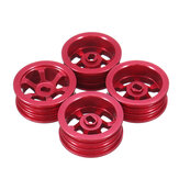4PCS Wltoys K969 K979 K989 1/28 Metal Wheel Rims Hubs RC Car Spare Parts