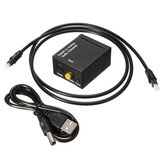 Digital Optical Coax Koaxialer Toslink zum analogen Audiokonverter Adapter RCA L / R.