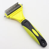 Double Side Pet Stainless Steel Fur Brush Comb Dog Cat Grooming Tool for Pet Cleaning Supplies