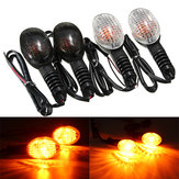 Front Rear LED Turn Signal Light For KAWASAKI EX250R NINJA KLX250SF VN650