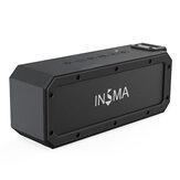 INSMA S400 PLUS 40 W NFC bluetooth TWS Alto-falante estéreo sem fio Tri-Bass IPX7 Alto-falante à prova d'água com Type-C