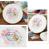 Hand Embroidery DIY Cloth Arts Handmade Cross Stitch Hanging Chinese Style Painting for Home Decoration