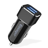 Essager 2.4A Dual USB Port Fast Charging Car Charger For iPhone X XR XS Max Mi8 MI9 HUAWEI P30 Mate30