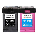 Veteran 301XL Cartridge Compatible for hp 301 xl hp301 Ink Cartridge for hp Envy 5530 Deskjet 2050 2540 2510 1000 1050 printer
