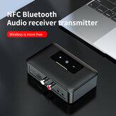 Bakeey NFC BT19 bluetooth 5.0 récepteur émetteur 3.5mm AUX LED indicateur casque adaptateur voiture lecteur Audio