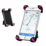 RockBros 360 Grad Rotation Einstellbarer Fahrrad Lenker Clip Halter für 3,5-7 Zoll Telefon GPS
