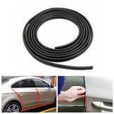 4.5m Car Door Edge Guard Trim Scratch Protector Strip Crash Protective Cover Black