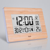 LCD Digital Wall Clock Alarm Big Size Multifunction Temperature Table Clocks Bedside Thermometer Hygrometer