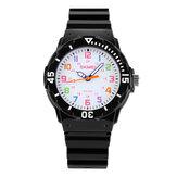Reloj SKMEI 1043 de Pulsera para Niños Impermeable Reloj de Cuarzo al Aire Libre de Deporte de Estilo Casual