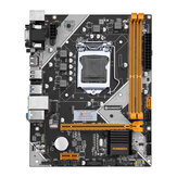 HUANANZHI B75 Desktop Motherboard M-ATX LGA1155 for Core i3 i5 i7 CPU Support 2*8G DDR3 Memory Black