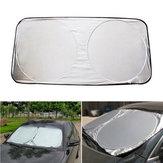 150x80cm Dobrável Car Front Windshield Cover Sombrinha Visor Proteção UV Escudo Capa
