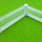 1:87 HO Schaal Detechable Fences For Sand Table Model Building Train Railway
