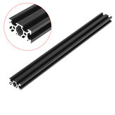 Machifit 100-1000mm Black 2040 V-Slot Aluminum Profile Extrusion Frame for CNC Tool DIY