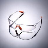 Eye Protection Glasses Dust-proof Anti-Spatter Lab Work Goggle Soft Bridge Nose for Healthcare
