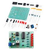 LED Adjustable Speed Circulating Light Circuit Kit Electronic Training DIY Parts