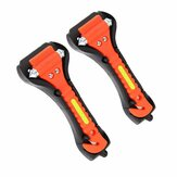 Car Emergency Safety Hammer Life-Saving Escape Tool 2Pcs with Double-sided Fluorescent Strip
