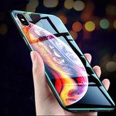 BakeeyÇizilmeyeDayanıklıTemperliCam+ TPU Koruyucu Kılıf iPhone XS Max için