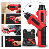 AUGIENB 45 IN 1 Cordless Electric Screwdriver Tool Drill Rechargeable Driver Set