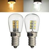 Lampadina E14 3W SMD3014 LED del frigorifero del frigorifero del cereale luce del pendente di cristallo Spotlight 220V