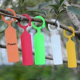 50'ar asılı Bitki Su Geçirmez Etiketler Bahçe Çiçek Sebzesi Bitki Etiket Aletler