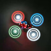 2 Pairs Gemfan Moonlight 51433L 51433 5.1x4.3 5.1 Inch 3-Blade Propeller w/ 1 LED Lamps for RC Drone FPV Racing