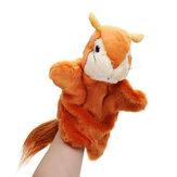 27 CM Stofftier Eichhörnchen Märchen Handpuppe Classic Kinder Figur Spielzeug Plüsch Tier