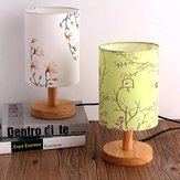 14*20CM Vintage E27 Lamp Holder Floral Bird Lamp Shade Table Ceiling Light Cover