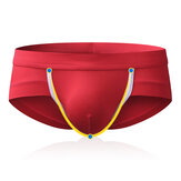 Mens Low Waist U Convex Pouch Comfy Underwear Briefs