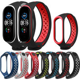 Bakeey Double Color Silicone Cinturino per orologio per Xiaomi mi band 5 Smart Watch