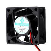 5Pcs 12v 6025 60 * 60 * 25mm Ventilador de resfriamento com cabo de 2 pinos para impressora 3D