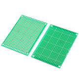 10pcs 5x7cm FR-4 2.54mm Single Side Prototype PCB Printed Circuit Board
