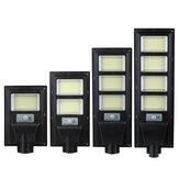 374/748/1122/1496 LED Solar PIR Motion Power Panel Lamp Outdoor Street Wall Induction Lamp Light