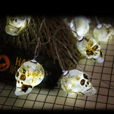 1.5/3/4.5M Halloween Ghost Skull String Lights Party House Decoration