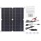 20W 5V panneau solaire monocristallin Mono panneau alimenté solaire panneau de chargeur de charge rapide étanche avec accessoires