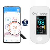 Boxym AH018 Smart bluetooth HRV Finger Pulse Oximeter Blood Oxygen Heart Rate Saturation Meter Record IPS Oximetro De Dedo Saturometro Monitor