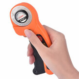 45mm Round Rotary Cutter Sewing Quilting Roller Fabric Cutting Tool + 10x Bllades