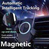 Xiaoqi 15W Ładowarka MagSafe Automatyczne mocowanie skanowania Wentylator samochodowy Mocowanie telefonu komórkowego Bezprzewodowa ładowarka do iPhone'a 12