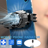Portable Mobile Phone Radiator Semiconductor Rapid Cooling Fan USB Gaming Cooler for 4.7-7.5 inch Mobile Phone