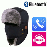 Winter Warm Beanie Ski Chapéu Wireless Bluetooth Smart Cap Headphone Headphone Speaker Mic Música