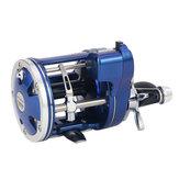 ZANLUREACL3.8:112BBLewy / prawy ręczny kołowrotek Licznik do dużych prędkości Trolling Sea Fishing Wheel