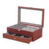 Urbriller Display Case Grids Opbevaringsboks Smykkesamling Case Organizer