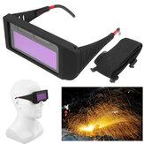 Antirreflejos a prueba de rayos UV Solar Soldadura de oscurecimiento automático Mascara Ojos de casco Gafas de protección para ojos Gafas Para soldador