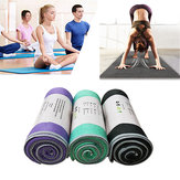 KALOAD Microfiber Yoga Towel Silica Double Sides Anti-slip Sweat Absorbent Pilates Fitness Yoga Mats