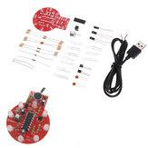 Kit de luz para atraso de controle de som e luz Kit de controle de som Melody Light Kit DIY eletrônico